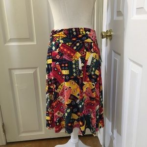 NWT LuLaRoe Azure Skirt; Size XL